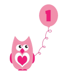 2014 party candles ideas - birthday owl cake clipart pink owl clip art-f87191